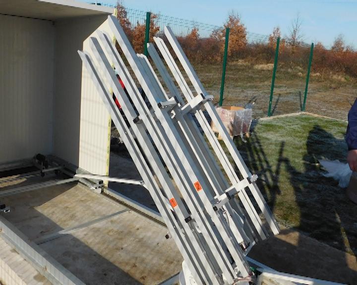 Automatski lanser za ispaljivanje protivgradnih raketa u Topoli