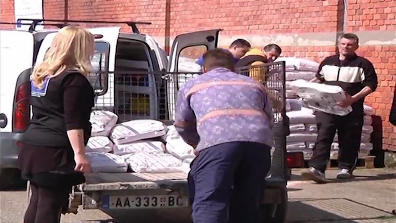 FAO  nastavlja donacije