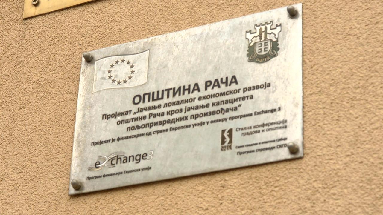Saradnja Opštine Rača i SPOS-a