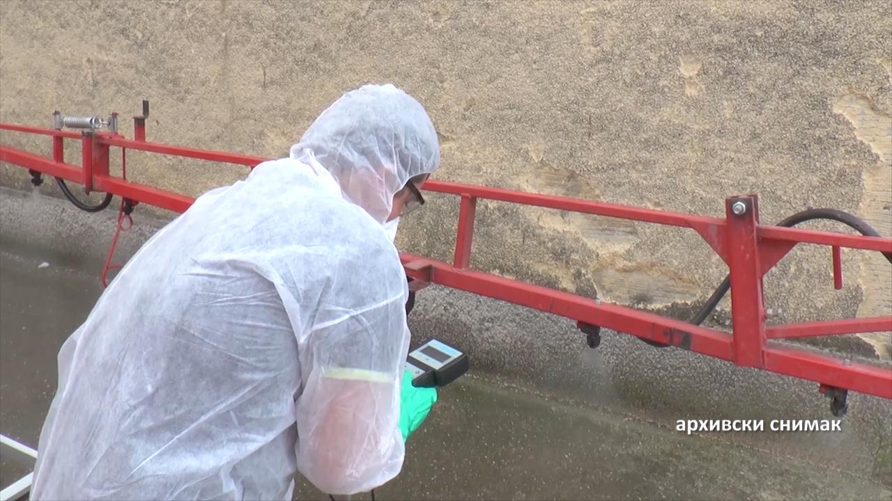 Kontrola prskalica od 18. maja u Golubincima