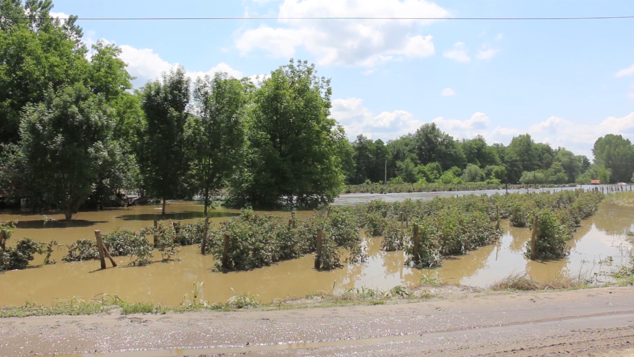 Malinari u borbi sa poplavama