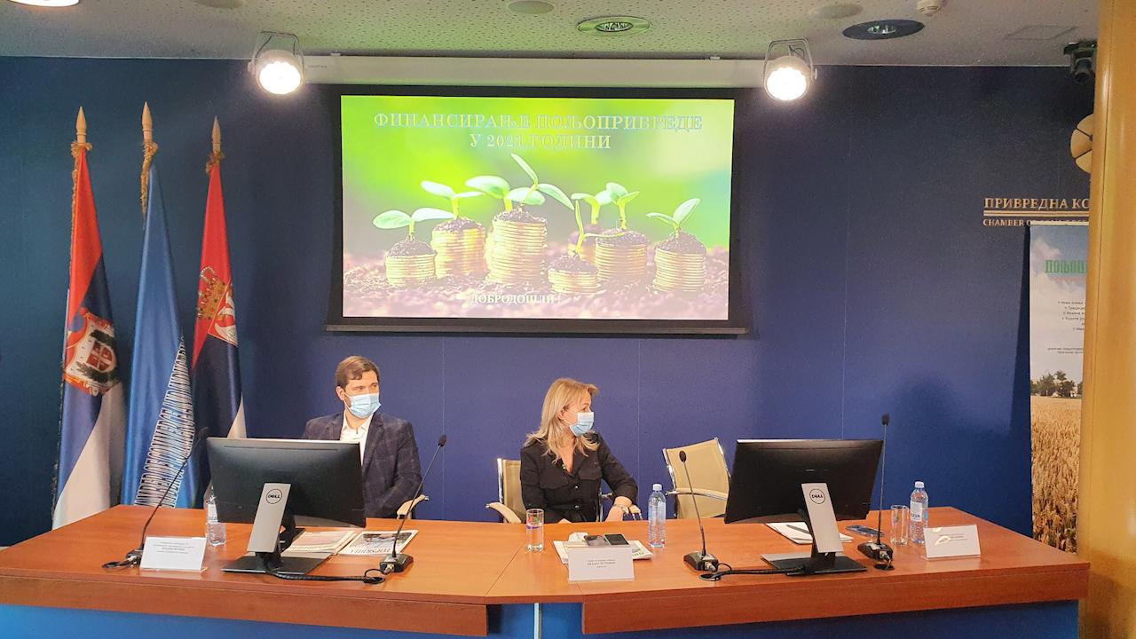 """""""Finansiranje poljoprivrede u 2021. godini"""""""