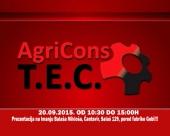 20. septembra prezentacija AgriCons T.E.C.-a