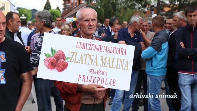 Malinari protestovali i u Prijepolju