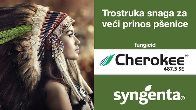 Cherokee za zdrave useve i visok prinos