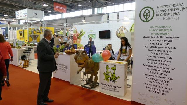 Organski proizvođači na Sajmu poljoprivrede