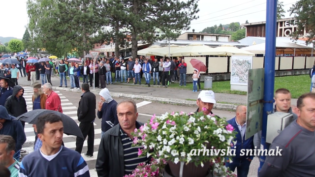 Malinari podigli šatore kod Prijepolja, najavljuju šire proteste