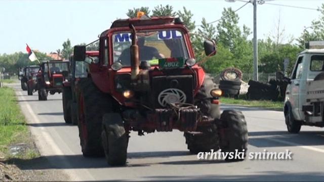 Protestna vožnja kao upozorenje na stanje u poljoprivredi
