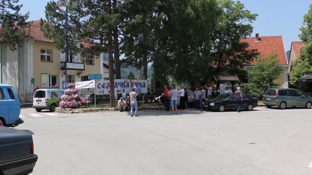 Slab odziv malinara na protestu u Arilju