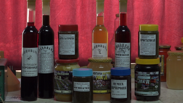 Pčelinji proizvodi sa lekovitim biljem