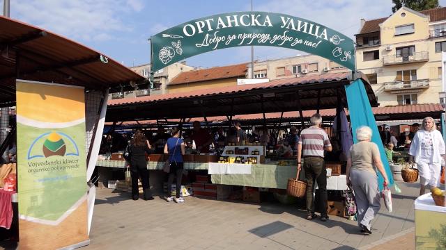 Organska ulica- pravo mesto za nabavku zdrave hrane