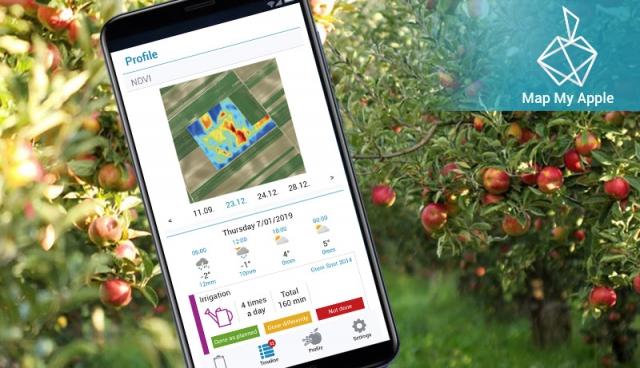 """Upoznajte MapMyApple – Vašeg """"džepnog agronoma"""""""