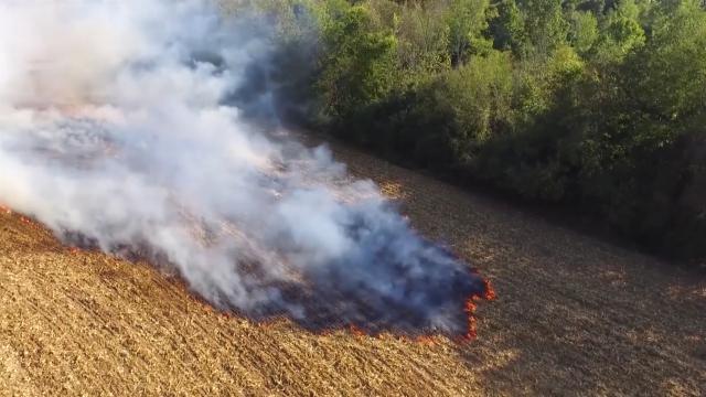 Zakon zabranjuje paljenje vatre na  otvorenom