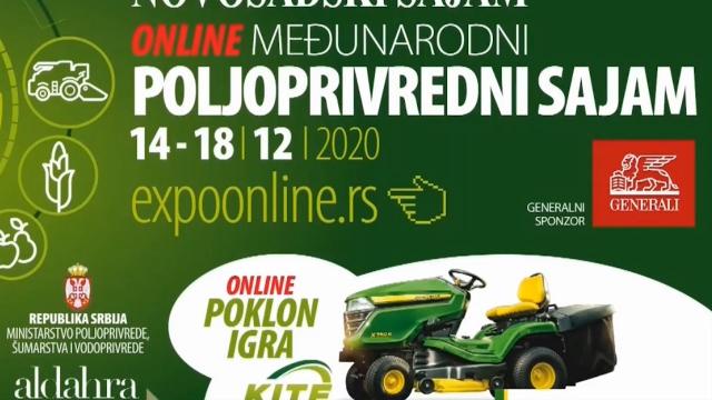 Onlajn Poljoprivredni sajam do 14. marta