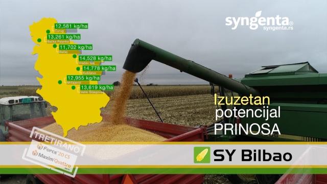 Izuzetne agronomske karakteristike za rekordne prinose