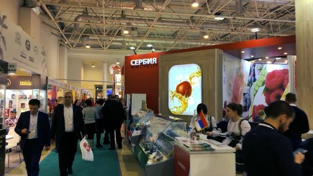 Uspešna prezentacija na sajmu u Moskvi